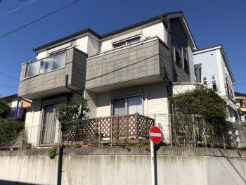 外壁塗装施工前 横浜市栄区C様邸