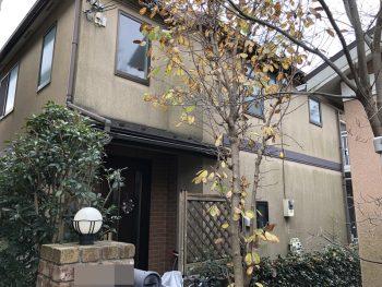横浜市鶴見区W様邸外壁塗装前
