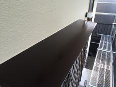 住宅塗り替え 霧除け庇 施工後