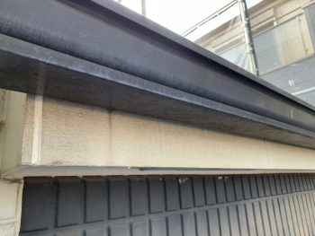 横浜市栄区C様邸雨樋塗装前