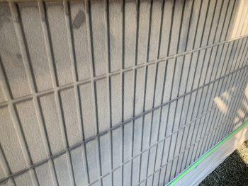 横浜市栄区C様邸外壁アクセント部分インディフレッシュセラ塗装前