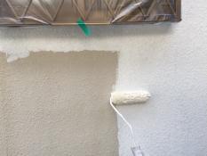 横浜市戸塚区H様邸外壁塗装下塗り