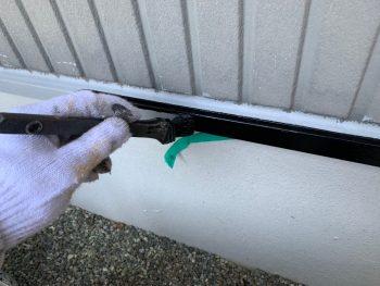 水切りシリコン上塗り1回目