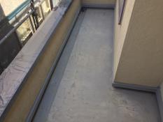 横浜市栄区K様邸FRP防水保護塗装前