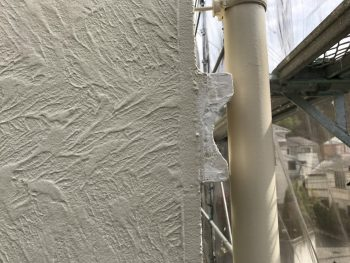 横浜市栄区K様邸雨樋塗装塗替え完了