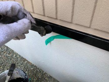 横浜市栄区C様邸水切り上塗り2回目