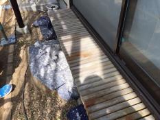 濡縁施工前 住宅リフォーム 塗装
