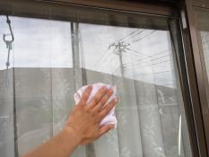 横浜市戸塚区H様邸外壁塗装後清掃作業