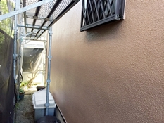 外壁塗り替え施工後