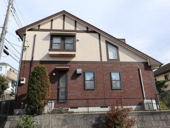 横浜市栄区S様邸外壁塗装前