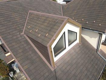 屋根塗装工事 施工前 横浜市栄区S様邸