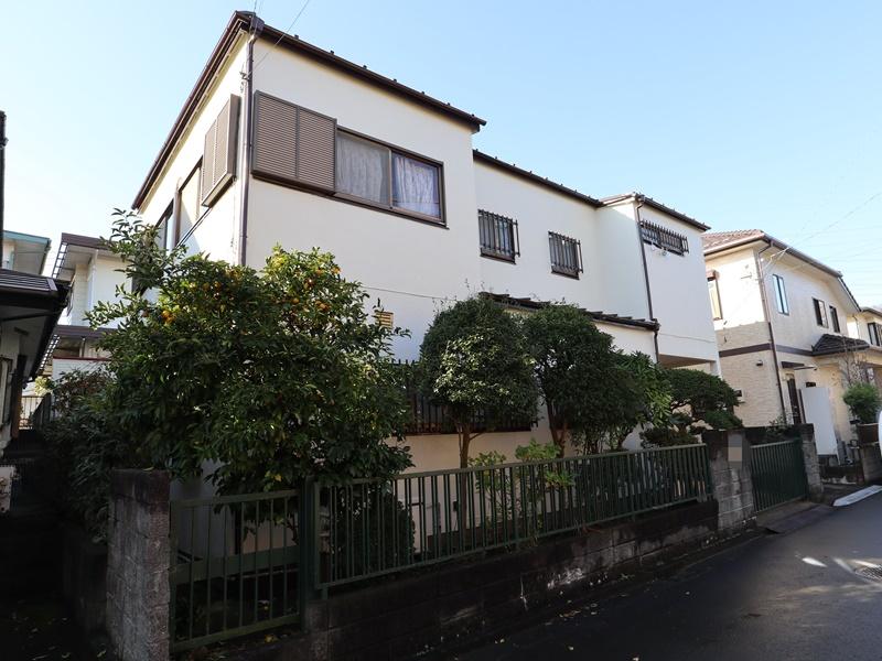 横浜市港南区N様邸外壁塗装屋根塗装施工後