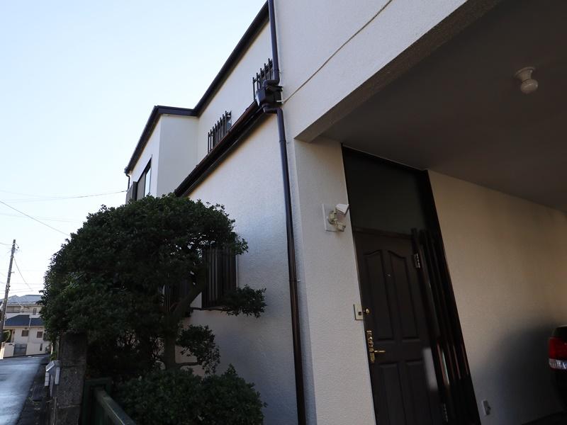 横浜市港南区N様邸玄関塗装施工後