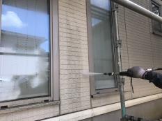 横浜市港北区G様邸外壁高圧洗浄
