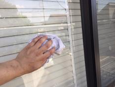 外壁塗装 窓清掃