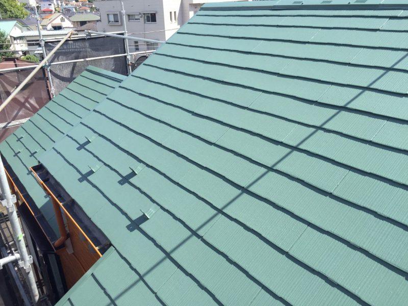 横浜市栄区A様邸屋根塗装後
