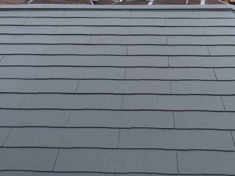横浜市港南区K様邸屋根塗装後