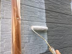 横浜市栄区A様邸外壁塗装下塗り