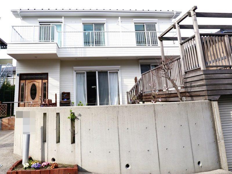 外壁塗装 屋根塗装 施工後 横浜市戸塚区