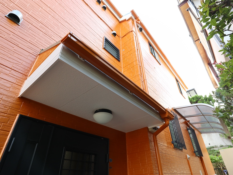 横浜市外壁塗装工事後