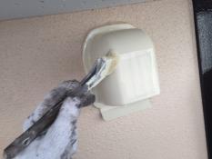 戸建塗り替え 換気フード シリコン塗装