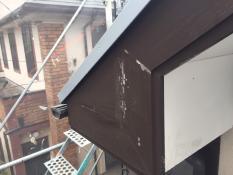 戸建て塗り替え 横浜市栄区破風塗装前