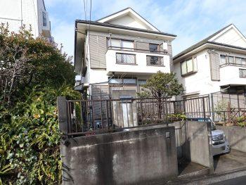 横浜市金沢区H様邸外壁塗装前画像