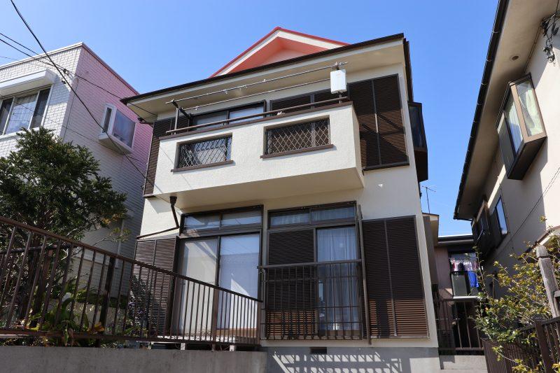 横浜市金沢区H様邸外壁塗装後画像