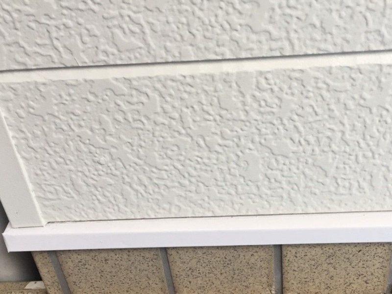 横浜市保土ヶ谷区S様邸水切り塗装後