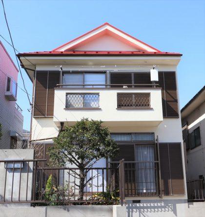 横浜市金沢区H様邸施工事例|外壁塗装 屋根塗装 防水塗装