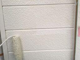 横浜市保土ヶ谷区S様邸外壁上塗り1回目
