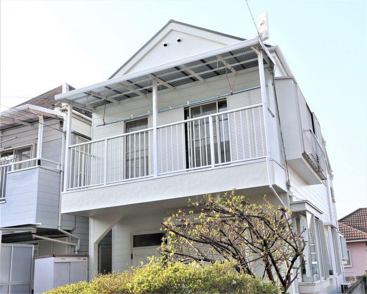 横浜市保土ヶ谷区S様邸外壁塗装施工後画像