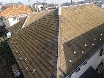 横浜市金沢区H様邸屋根塗装前画像