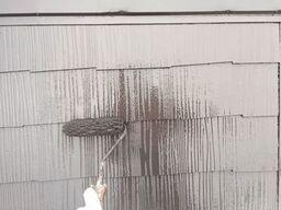 横浜市保土ヶ谷区S様邸屋根上塗り2回目