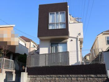 横浜市栄区K様邸施工事例|外壁 屋根 塀 その他付帯部塗装とFRP防水