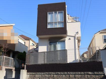横浜市栄区K様邸施工事例|インディフレッシュセラ外壁塗装