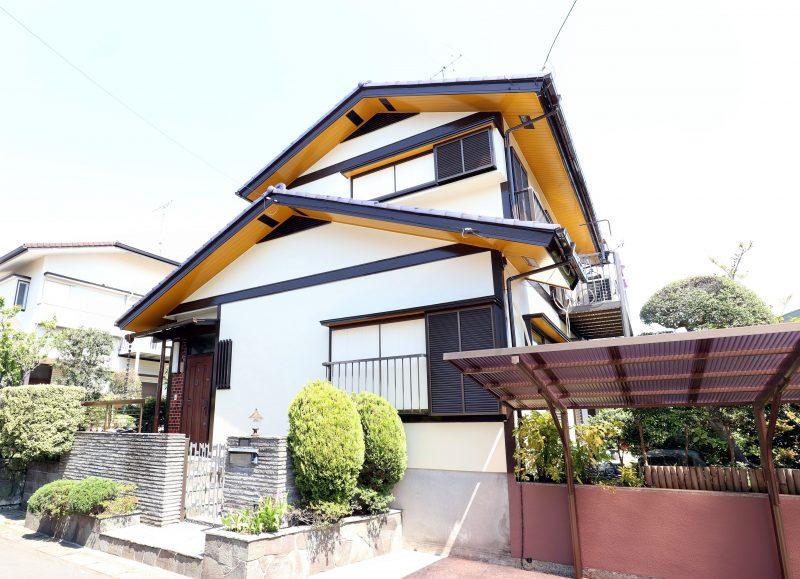 横浜市栄区Y様邸塗装後画像