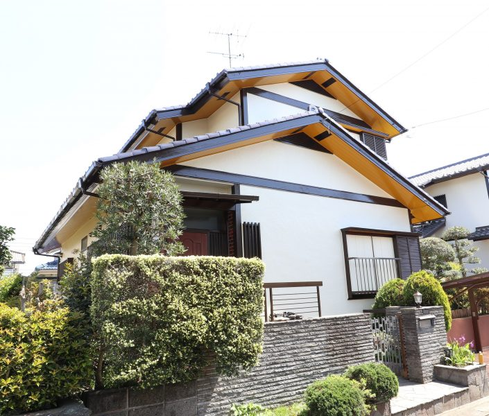 横浜市栄区Y様邸外壁塗装施工後画像