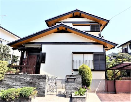 横浜市栄区Y様邸施工事例|外壁塗装 塀塗装 付帯部塗装