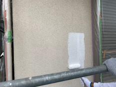 横浜市栄区K様邸外壁インディフレッシュセラ下塗り