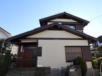 横浜市栄区Y様邸塗替え前画像