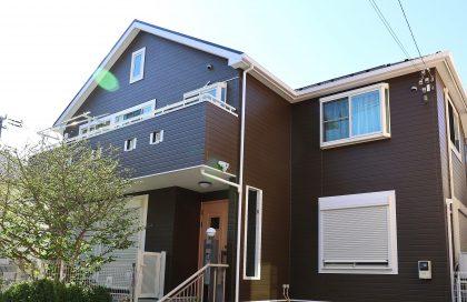 横浜市栄区F様邸施工事例|ダイヤモンドコート外壁塗装