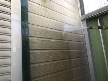 横浜市栄区F様邸外壁高圧洗浄