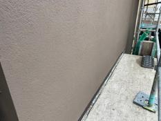 横浜市栄区S様邸外壁1階部分インディフレッシュセラ施工後