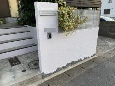 横浜市栄区S様邸塀施工後