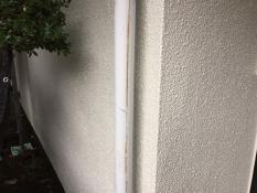 横浜市港南区N様邸雨樋塗装施工前