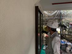 横浜市港南区N様邸木枠上塗り2回目
