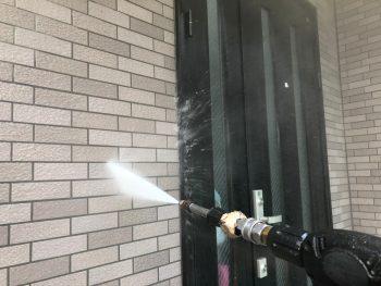 横浜市南区M様邸外壁高圧洗浄
