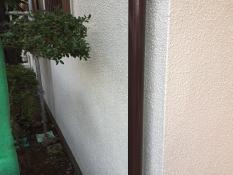横浜市港南区N様邸竪樋シリコン塗装施工後