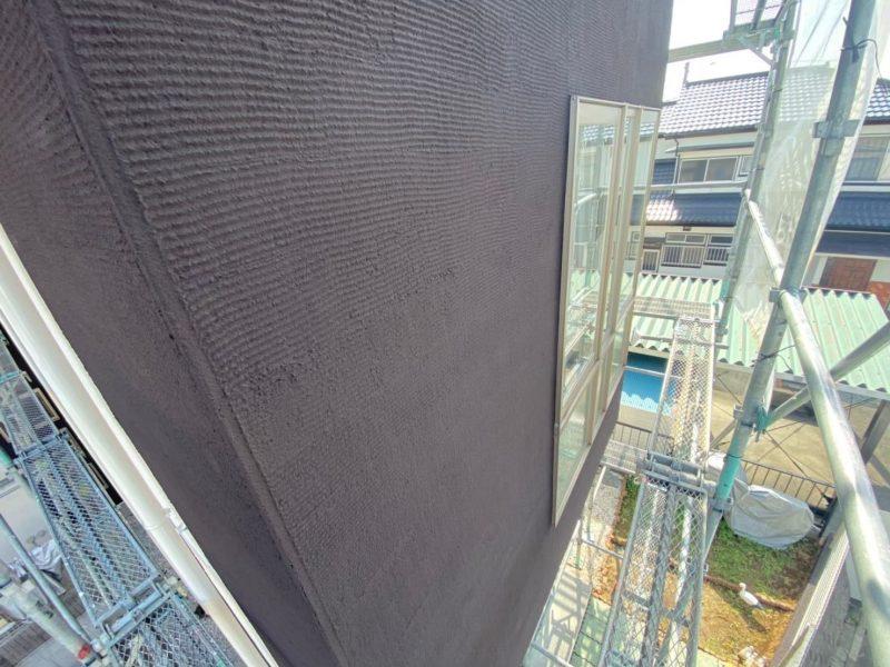 横浜市栄区K様邸インディフレッシュセラ外壁塗装後